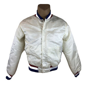 Vintage-1984-USA-Amateur-Baseball-Team-GE-Swingster-Satin-Jacket-XL-Olympic