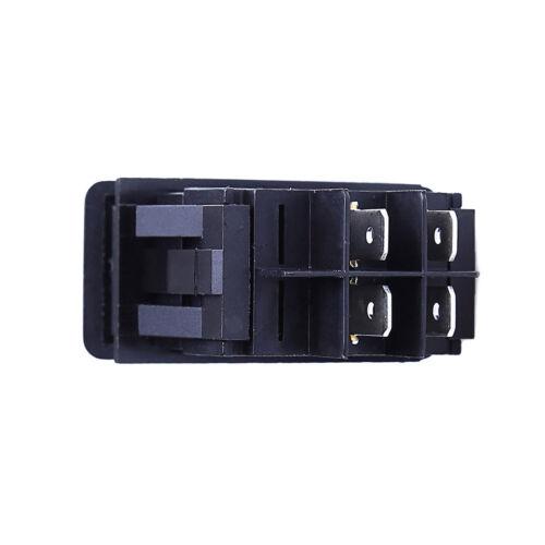 10* Waterproof Marine Boat Car Rocker Switch SPST ON-OFF 4PIN Red LED US Seller