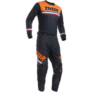 2020 Thor Pulse Pinner Jersey Trikot Orange MX Motocross Cross Enduro DH BMX MTB