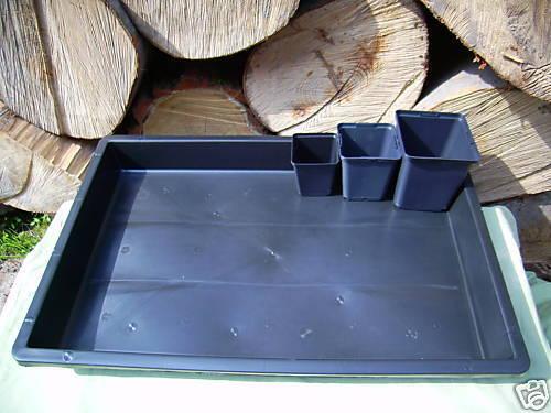 Saatschale  Pflanzschale 60x40x6,5 stabil ohne Löcher