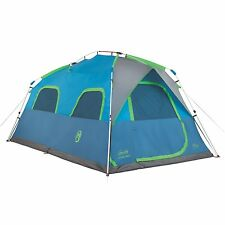 Coleman 8 Person Instant Signal Mountain Cabin Model Camping Tent    14' x 8'