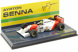 Ayrton-Senna-McLaren-MP4-8-8-Winner-Europa-GP-F1-1993-1-43-Minichamps