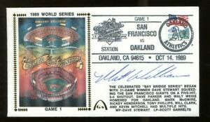 Matt-Williams-Signed-FDC-First-Day-Cover-Autographed-Giants-1989-Giants-WS-56204