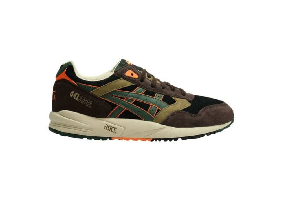 Asics Gel Saga  Camo Camo Camo  Trainers  US 10.5  Marronee-nero-Sand 8772be