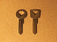 10 VINTAGE ESP KEY BLANKS FORD LINCOLN MERCURY 1952-1964 H27