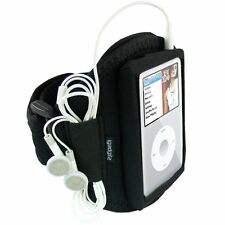 iGadgitz Water Resistant Neoprene Sports Gym Jogging Armband for Apple iPod &