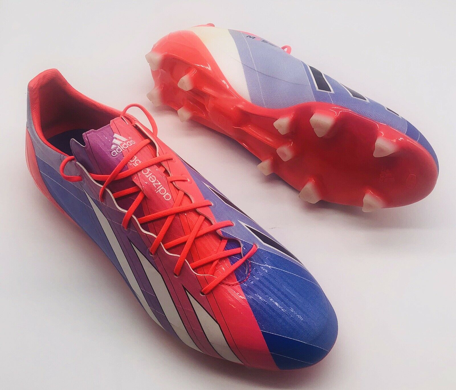 Mens Adidas F50 Adizero Messi Battle Pack 2014 Wc Soccer Shoes Cleats M19855 11 5 For Sale Ebay