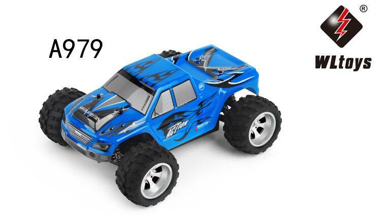 Wltoys 1:18 2.4Ghz Radio Remote Rechargeable Off-Road RC Car Vehicle Model A979