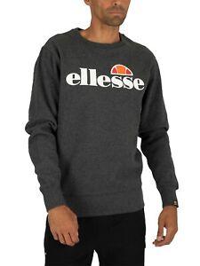 Ellesse SL Succiso Crew Neck Dark Grey Sweatshirt