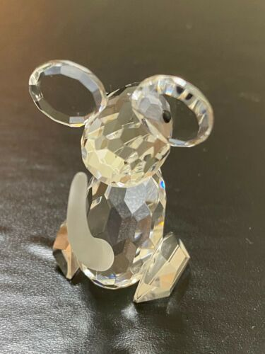 New Glass Crystal Figuerines Collectible Mouse Animal