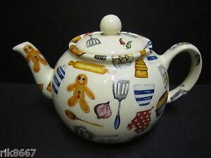 Heron-Cross-Pottery-Baking-Days-6-8-Cup-English-Tea-Pot