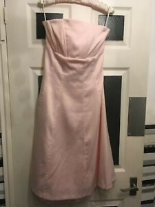 pale-pink-bustier-Occasion-Dress-with-netting-By-South-Size-16-Large-prom-ball