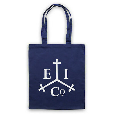 EAST INDIA COMPANY LOGO HISTORIC TRADE GROUP SHOULDER TOTE SHOP BAG