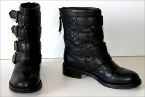 MARC-BY-MARC-JACOBS-Bottines-Boots-Tout-cuir-T-36-5-BE