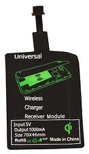 Qi Wireless Charger Ladegerät Receiver Empfänger Samsung Galaxy Micro USB Neu