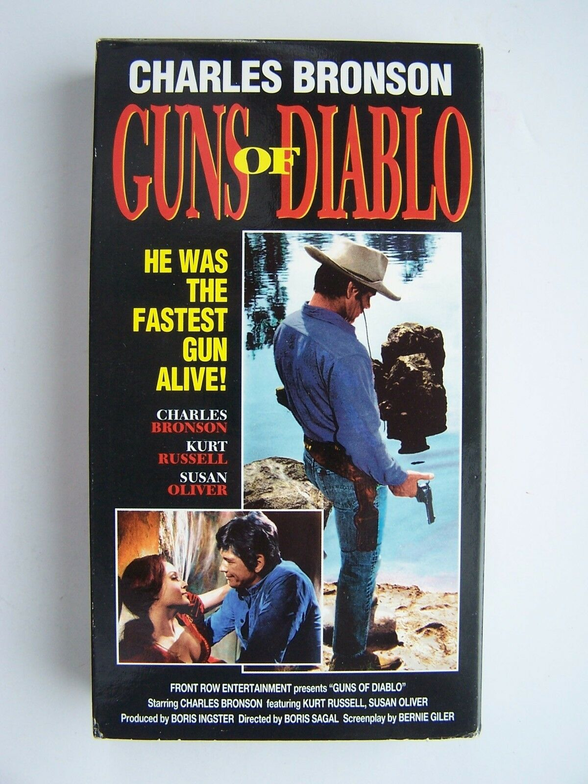 Guns of Diablo VHS Video Tape Charles Bronson 825545549
