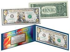 Gold Hologram *Crackle* Genuine Legal Tender $1 U.S. Bill *Must See - Limited*