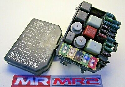 Mr MR2 Used Parts 1989-99 Toyota MR2 MK2 Engine Side Rear Fuse Box /& Relays