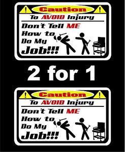 2 for 1 I cherish my tools decal Mac box cart mechanic socket balancer Sears