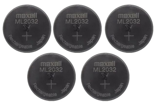 New MAXELL ML2016 Rechargeable 2016 3V CMOS RTC Battery for Camera Motherboard