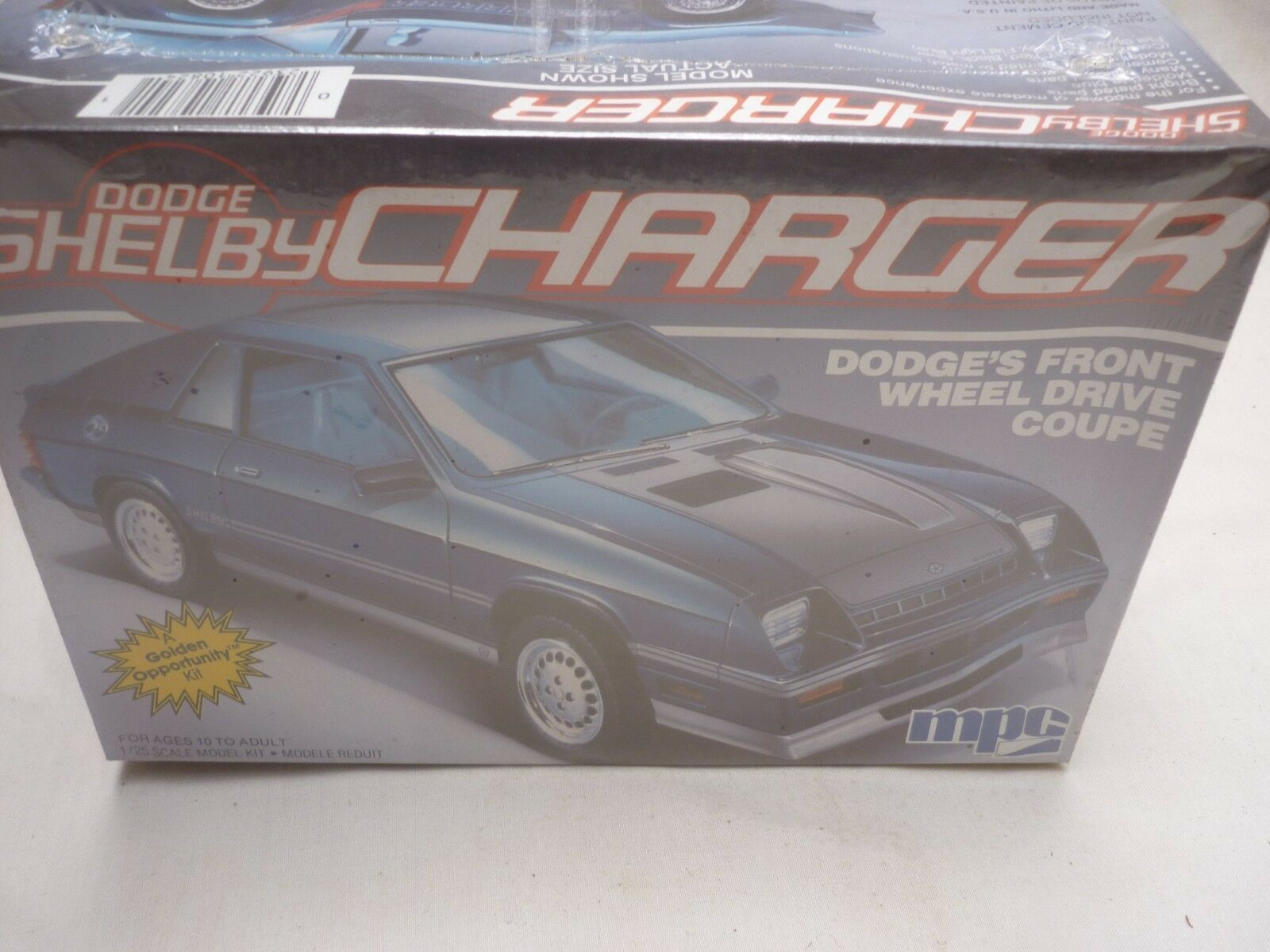 MPC, un opened plastic kit of a DODGE Shelby Charger, factory sealed   fresh