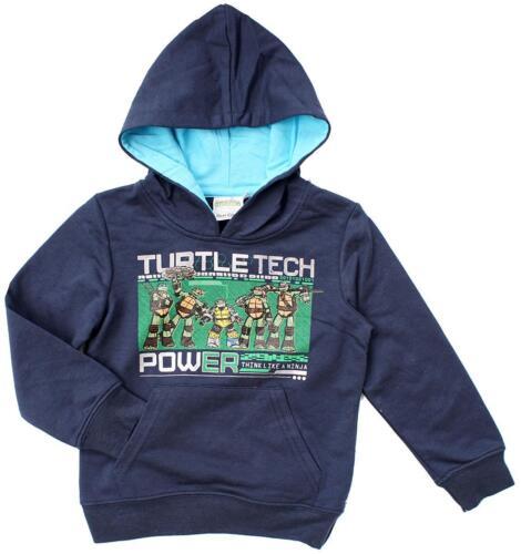 Boys Jumper Teenage Mutant Ninja Turtles Hooded Top Tech Power 3 to 8 Years