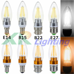B15-B12-E14-E27-2W-4W-6W-Edison-Filament-COB-LED-Chandelier-Candle-Light-Bulb