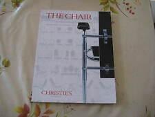 CHRISTIES CATALOGUE MODERN DESIGN THE CHAIR SALE OCT97 BREUER ARAD EAMES ++