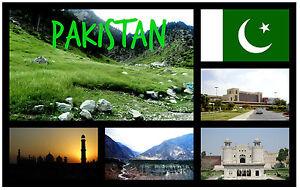 Pakistan-Souvenir-Nouveaute-Aimant-de-refrigerateur-NEUF-Cadeau-Noel