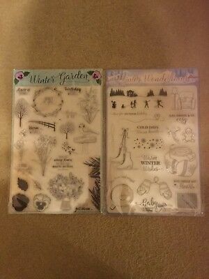 Winter Wonderland JGS180 WOODWARE Clear Singles MAGIC Stamps