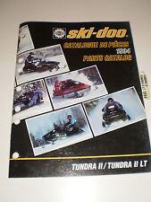 SKIDOO 1994 PARTS CATALOG MANUAL TUNDRA 11 / TUNDRA 11 LT