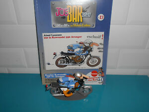 Joe-bar-team-moto-figurine-fascicule-Aime-Lasauce-Kawasaki-350-Avenger