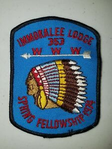 Boy-Scout-OA-Lodge-353-Immokalee-1974-Spring-Fellowship-eX1974-1