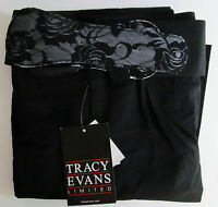 Tracy Evans, Size 0, Black Pants With Belt, With Tags