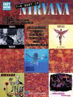 The Best Of Nirvana Sheet Music Easy Guitar 000702096