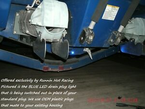 Yamaha Jet Boat White Led Drain Plug Light 12v Oem Plastic