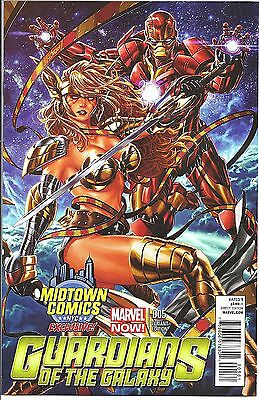 GUARDIANS OF THE GALAXY 5 MIDTOWN MARK BROOKS ANGELA VARIANT NM 1
