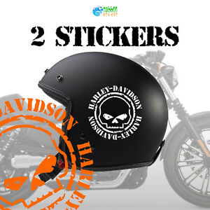 Details About Adhesives Harley Davidson Stickers Logo Motorcycle Bike Custom Helmet Tank