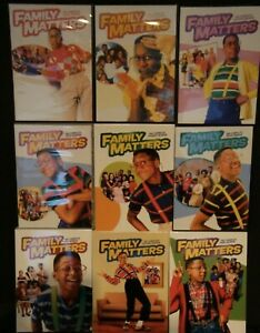 Family-Matters-The-Complete-Series-27-DVDs-Seasons-1-9-1-2-3-4-5-6-7-8-9-USED