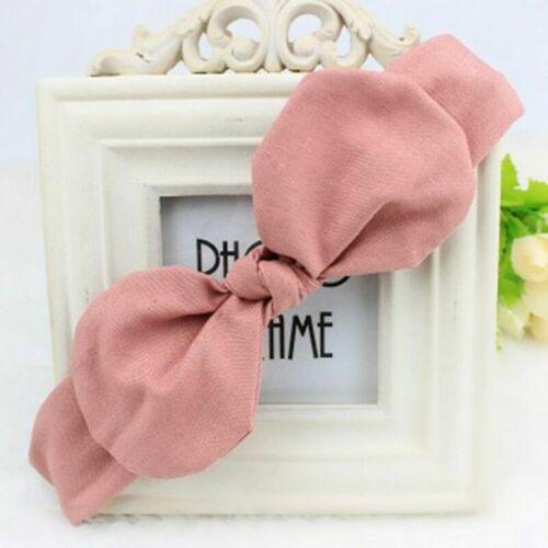 Cute Baby Toddler Large Bow Headband Hair Band Headwear Head Wrap Latest