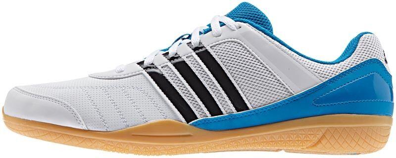 Adidas Adidas Adidas Courtblast Team TT-Schuh weiß blau   NEU+OVP 4f1e57