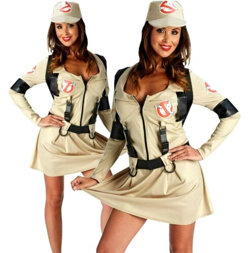 Sac à dos Officiel Femmes Ghostbusters Robe Robe Fantaisie Halloween 1980 Costume