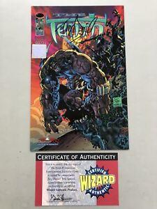 Tenth (09/1997 2nd Series) #0 Wizard COA Signed by Tony Daniels NM Near Mint