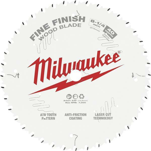 3 Pk Milwaukee High-Performance 8-1/4