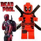 1pc Deadpool Minifigures Building Blocks Toy Marvel Avengers Custom Lego #013