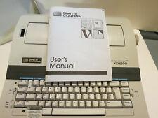 Smith Corona Typewriter Word Processor Xd 6600 Withmanual Film Ribbons