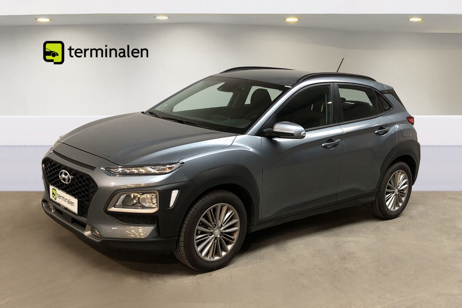 Hyundai Kona 1,6 T-GDi Trend DCT 5d - 254.800 kr.