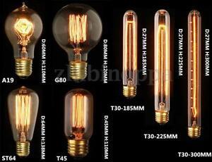 Image is loading E27-E14-B22-40W-60W-Filament-Light-Bulb-