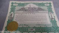 New Portland Oil & Gas Company Stock 25 shares 1920