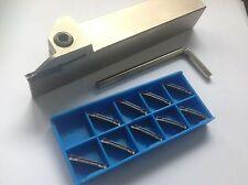 Stechhalter 20x20 + MGMN 300-J P25/M20 für Stahl+VA NEU! MIT RECHNUNG!!